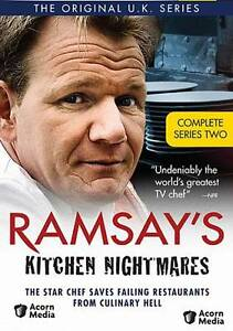 Ramsay's Kitchen Nightmares ~ Complete 2nd Second Series Season Two NEW DVD SET