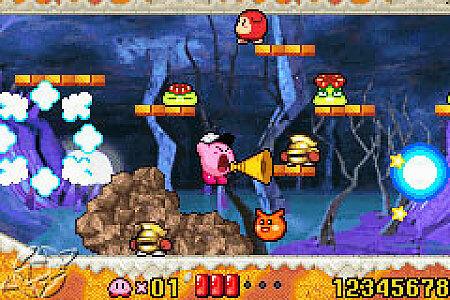 Kirby Nightmare in Dream Land Nintendo Game Boy Advance, 2002