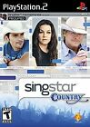 SingStar: Country  (Sony PlayStation 2, 2008) (2008)