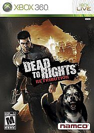 DEAD-TO-RIGHTS-RETRIBUTION-NEW-FACTORY-SEALED-XBOX-360