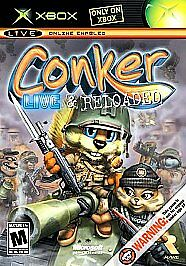 Conker: Live & Reloaded  (Xbox, 2005) Rated M