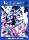 Expendables 2: Zero Heroes - 4 Film Collection (DVD, 2010)