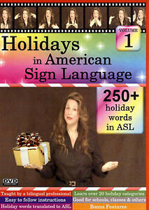 Holidays in American Sign Language (DVD cover art)