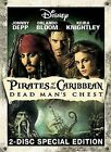 Pirates of the Caribbean: Dead Man's Chest 3D DVDs