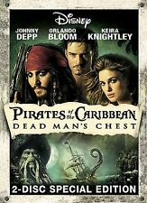 Pirates of the Caribbean 2 Dead Man's Chest DVD 2-Disc w/ slip Cover NEW Sealed