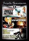 Direct Action/Retrograde/Direct Contact (DVD, 2010, 3-Disc Set)