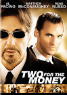 Two for the Money (DVD, 2006, Full Frame)