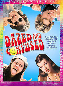 DAZED AND CONFUSED (DVD, 2004, Flashback Edition; Widescreen) NEW