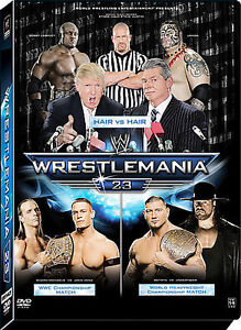 WWE - Wrestlemania 23 (DVD, 2007, 3-Disc...