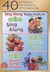 Sesame Street: Sing Along/Kids Favorite Country Songs/Sesame Sings Karaoke (DVD, 2010, 3-Disc Set)