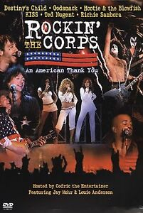 Rockin-the-Corps-An-American-Thank-You-DVD-2005-RARE-BRAND-NEW
