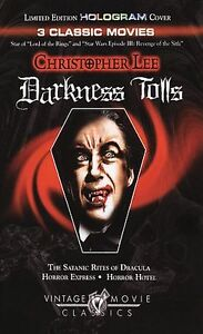Christopher Lee - Darkness Tolls (DVD, 2...