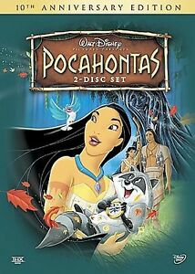 NEW-Pocahontas-10th-Anniversary-2-Disc-DVD-Set-In-Shrink-Wrap-With-Slip-Cover