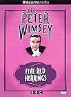 Lord Peter Wimsey - Five Red Herrings (DVD, 2001)