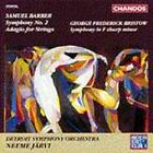 Samuel Barber: Symphony No. 2; Adagio for Strings; George Frederick Bristow: Symphony in F sharp minor (CD, Jun-1993, Chandos)