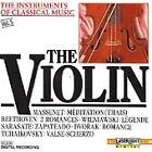 The Instruments of Classical Music, Vol. 5: The Violin (CD, Jun-1990, Laserlight)