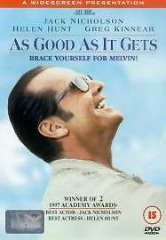As Good As It Gets DVD 1998 - London, United Kingdom - As Good As It Gets DVD 1998 - London, United Kingdom