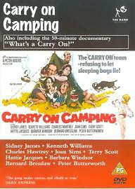 Carry On Camping (DVD, 1999)