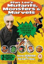 Stan Lee's Mutants, Monsters And Marvels (DVD, NEW.2002)