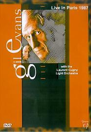 Quantum Leap QLDVD6388 Gil Evans - Live In Paris 1987 (DVD, 2005)