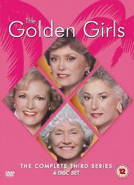 THE GOLDEN GIRLS ~ THE COMPLETE THIRD SEASON DVD (NEW/SEALED)