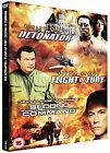 The Detonator/Flight Of Fury/Second In Command (DVD, 2008, 3-Disc Set, Box Set)