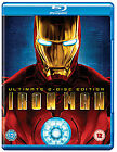 Iron Man (Blu-ray, 2008, 2-Disc Set, Box Set)