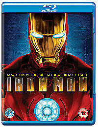 Marvel  Iron Man Bluray  2Disc Set Box Set Ultimate 2Disc Edition - <span itemprop='availableAtOrFrom'>Slough, United Kingdom</span> - Marvel  Iron Man Bluray  2Disc Set Box Set Ultimate 2Disc Edition - Slough, United Kingdom