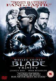 034BLADE TRINITY034  DVD 2005 2Disc Set - <span itemprop=availableAtOrFrom>Swanage, United Kingdom</span> - 034BLADE TRINITY034  DVD 2005 2Disc Set - Swanage, United Kingdom