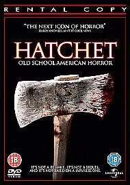 HATCHET - OLD SCHOOL AMERICAN HORROR  (N37){DVD}