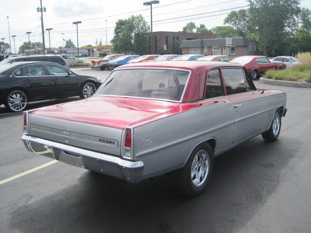 67 NOVA~327 CU IN~AUTO~LEATHER~RESTORED