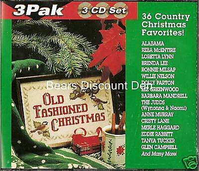 Old Fashioned Christmas - 36 Country Music Favorites - 3 Cd Set -new/sealed