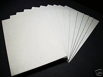 Buchbinder-Pappe-/Graupappe-2,0 mm für DIN A4 10 Stück