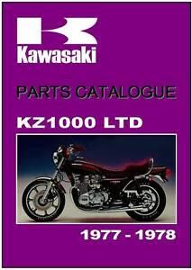 1977 Kawasaki Kz1000 Services manual