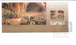 2001 Centenary Federal Parliament FDC - $2.45 M/Sheet