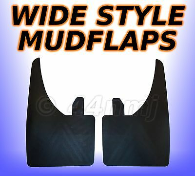2 x 9 inch WIDE Large Mudflaps Mud Flaps Guards Pair   All Rubber  Flexible