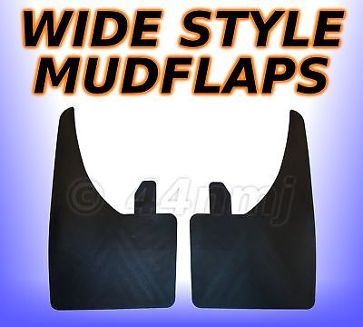 2 x WIDE Large Mudflaps Mud Flaps Guards Pair front and rear for Mercedes