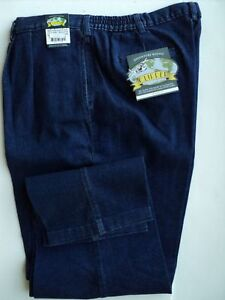 NWT-MENS-CLIPPER-JEANS-PLEATED-FRONT-62X34