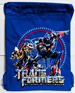 Transformers-Optimus-Prime-Bumblebee-String-Bag-Backpack