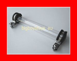 REGO TUBE REGISTRATION LABEL HOLDER MOTORBIKE MOTORCYCL