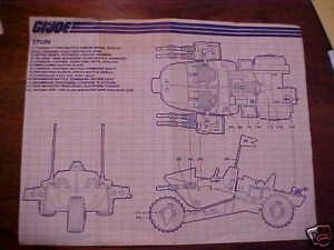 Vintage-1986-STUN-Instruction-Sheet