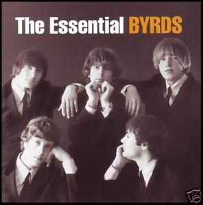 BYRDS-2-CD-THE-ESSENTIAL-ROGER-McGUINN-GRAM-PARSONS-DAVID-CROSBY-60s-NEW