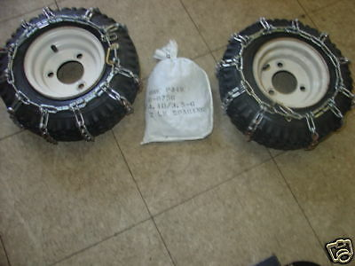 Tire Chains Fits Ariens Toro Mtd Lawnboy Jacobsen Snowblower Snow Blower