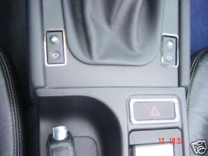 (Pg) Blenden Schalter eFH Edelstahl Chrom BMW Z3 2 St.