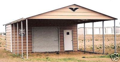 20 39 x 31 39 x 8 39 combo carport garage free installation for Carport garage combo