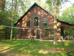 House cabin cottage chalet style plans blueprints ebay for Chalet style homes for sale