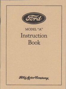 1928-FORD-MODEL-A-OWNERS-MANUAL