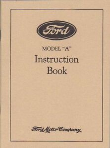 1928-FORD-MODEL-A-OWNER-039-S-MANUAL
