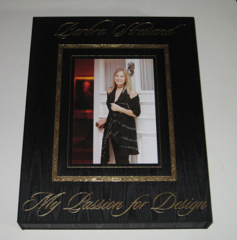 Barbra Streisand My Passion For Design Signed 1st Limited Of 500