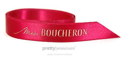 ღ Miss Boucheron - Duftband - Ribbon - 1m lang
